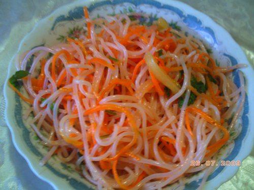Салат корейский фото рецепт