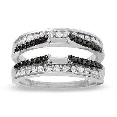 1 Ct T W Princess Cut Diamond Three Stone Bridal Set In