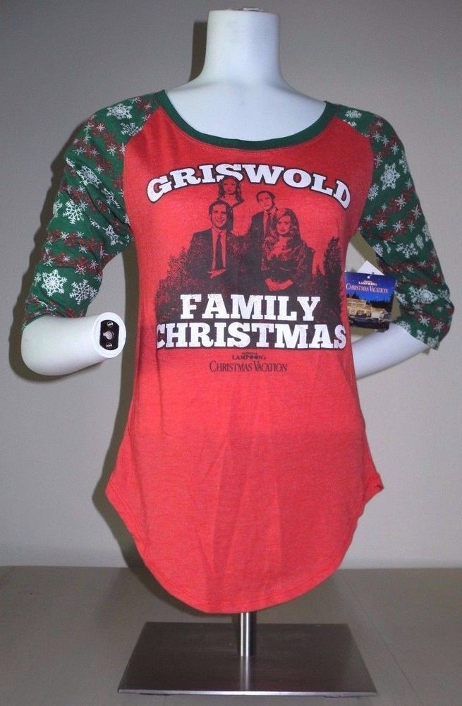NATIONAL LAMPOON'S GRISWOLD FAMILY CHRISTMAS LICENSED JUNIORS TEE L NEW W/TAG!  | eBay