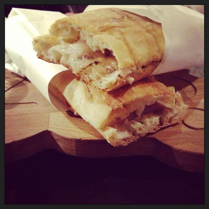 Baretto Gallese, Genova - panino con lardo
