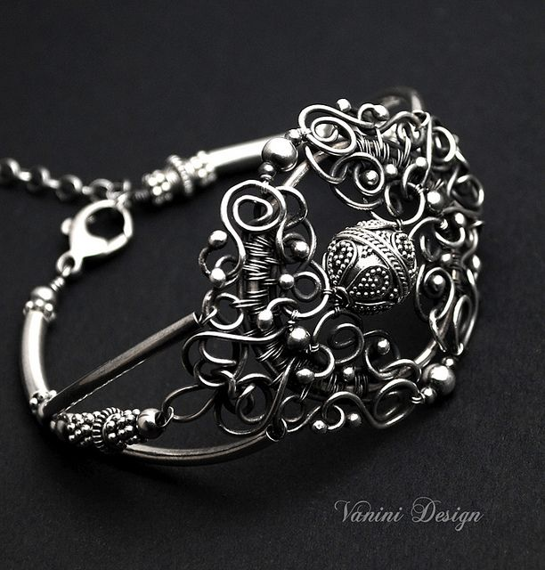 169 best Vanini Design images on Pinterest   Wire jewelry, Wire ...