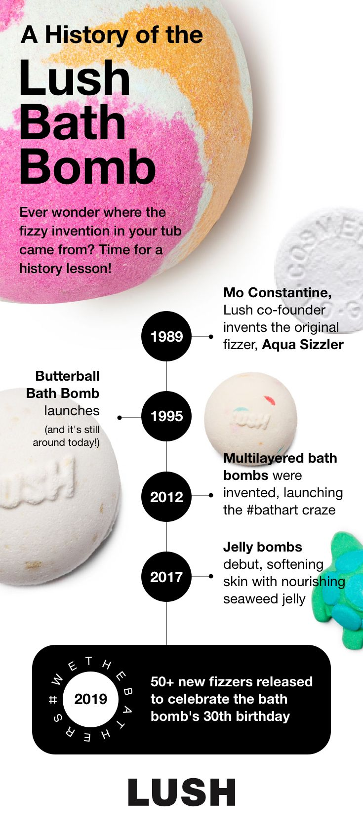 A History Of The Bath Bomb Lush Bath Bombs Bath Bombs Lush Bath