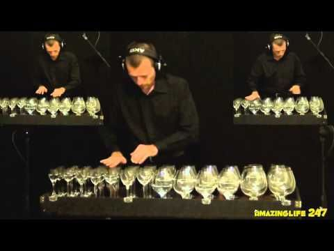 Harry Potter Theme on Glass Harp - YouTube