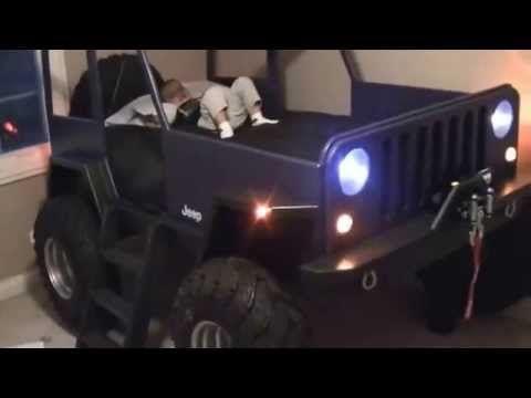 Kids Jeep Bed