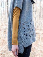 Вязание без швов пончо для женщин описание. О.п.