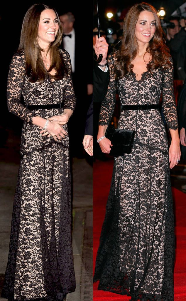 Temperley London Amoret Gown from Kate Middleton's Recycled Looks