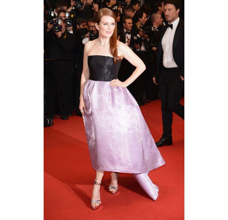 Cannes 2013 - Julianne Moore in Christian Dior haute couture (Inaugurazione e montée des marchesThe Great Gatsby)