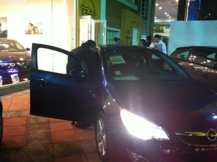 Primera Venta Nocturna Opel
