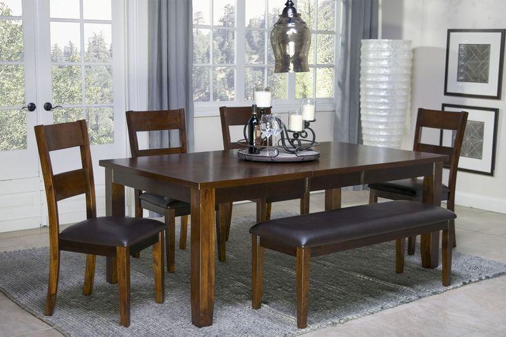 Mor Furniture For Less The Alpine Ridge Dining Room