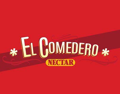 """Check out new work on my @Behance portfolio: """"El Comedero NECTAR"""" http://on.be.net/1JT9O2Y"""