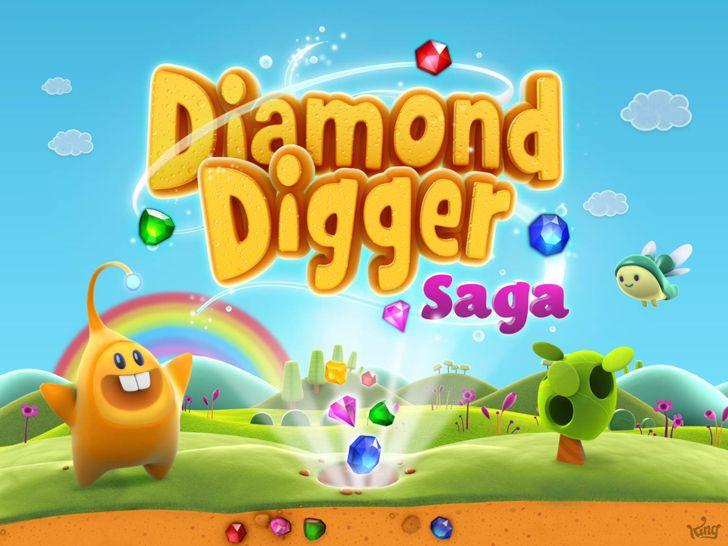Diamond Digger Saga App by King .com Limited