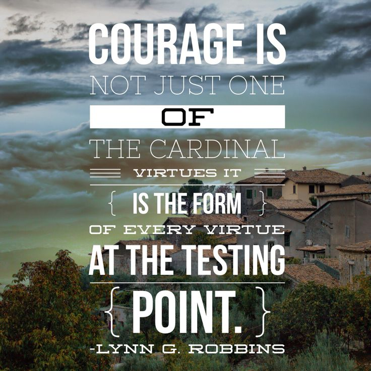 Courage takes courage. #ldsconf #lds #leadership #courage #mormon #ElderRobbins #virtue #endurance https://www.lds.org/general-conference/2014/10/which-way-do-you-face?lang=eng