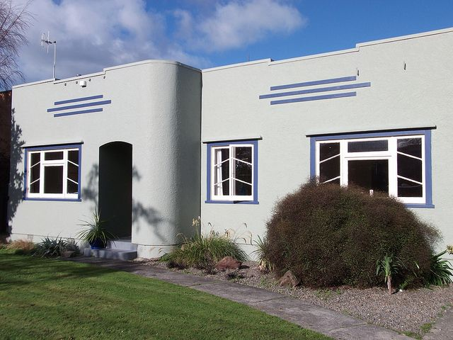 Art Deco house, Palmerston North, NZ