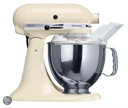 KitchenAid Artisan Keukenmachine 5KSM150PSEAC - Crème