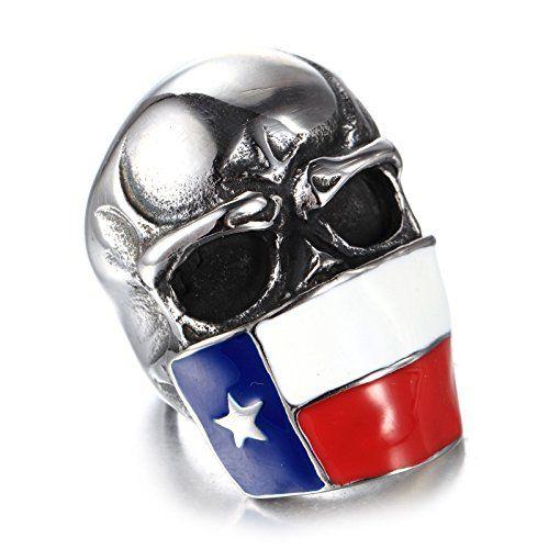 Biker Men Stainless Steel Chilean Flag Skull Ring,Size 7 ... https://www.amazon.com/dp/B01GCPMG6M/ref=cm_sw_r_pi_dp_E.Ttxb7NNQM3F