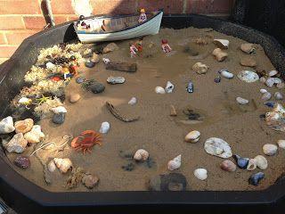 Beach Theme - Small world play