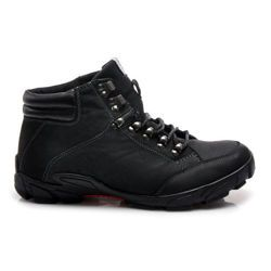 LEATHER BOOTS Men's trekking shoes with high upper. Uppers made of leather impervious to moisture, and makes the rate of breathing. Thick sole protects the foot from diverse terrain. https://cosmopolitus.eu/product-eng-39395-.html #mens #shoes #fall winter #trappers #tied #protector #comfortable #classic