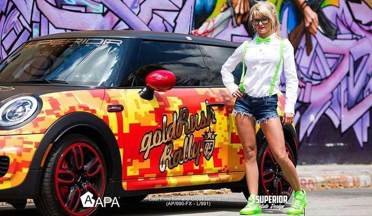 Cast Print Film + Gloss Lamination (AP/990-FX + L/991): alte prestazioni ed elevata conformabilità. Cast Print Film + Gloss Lamination (AP/990-FX + L/991): high performance and high conformability. #selfadhesive #digitalprintfilm #apastickers #apafilms #apafolie #apavinyl #apaprint #carfoil #carwrap #carwrapping #ilw #ilovewrapping #apainside