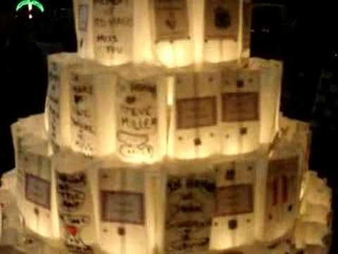 Look this up on you tube under: luminary bags at Relay for Life It is really neat !!!