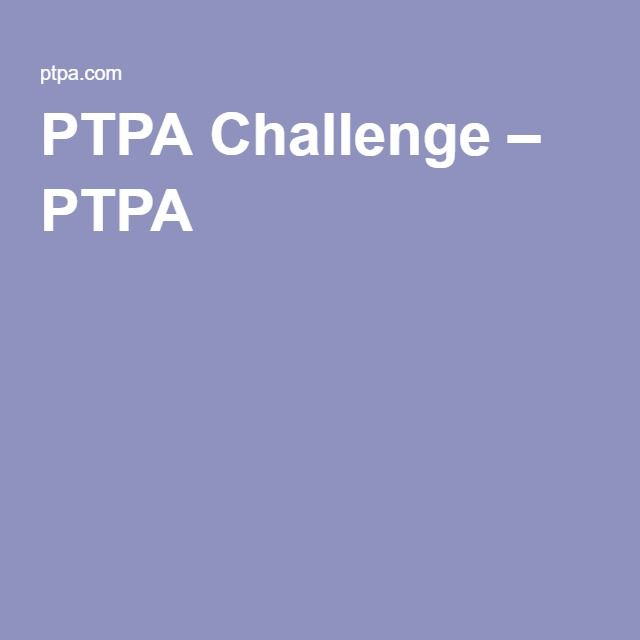 PTPA Challenge – PTPA