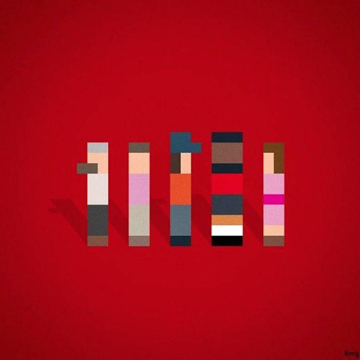 Pop Culture Characters Brilliantly Recreated in Pixels – Fubiz Media