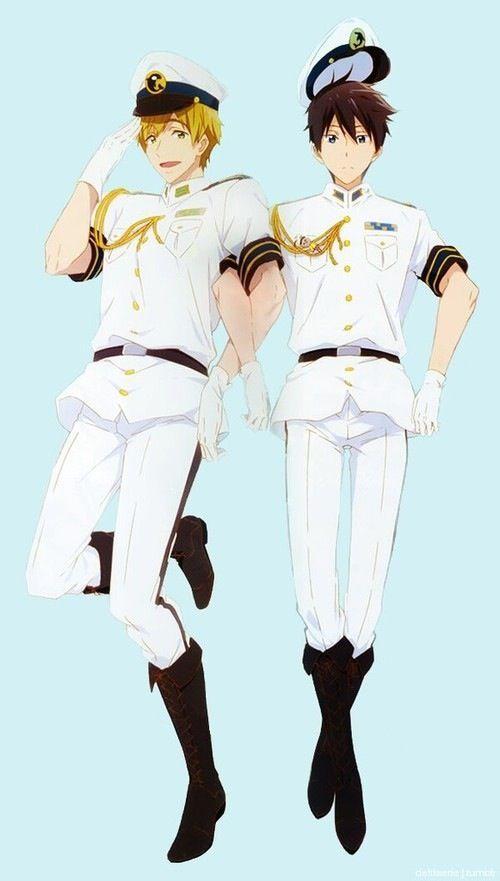 Free! Iwatobi Swim Club -Haruka and Makoto (whyistheresomuchrinharuonthiswebsitewhatswrongwithyoupeople)