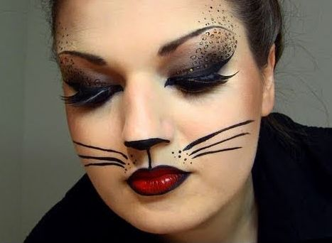 halloween makeup easy stepbystep guide cat costume - Fun Makeup Ideas For Halloween