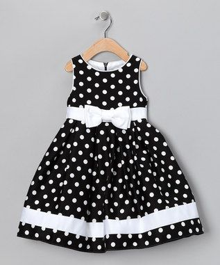 black and white polka dots and bows ~ inspiration!
