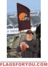"Browns Tailgate Flag 42"" x 20"""