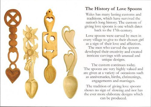 Wales Welsh Love Spoons History