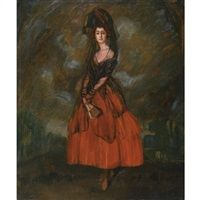 Boceto para el retrato de la Duquesa de Alba Study for the portrait of the Duchess of Alba by Ignacio Zuloaga y Zabaleta