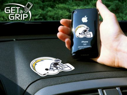 """San Diego Chargers Get a Grip Cell Phone Holder (Set of 2): """"Let your favorite team get a… #SportingGoods #SportsJerseys #SportsEquipment"""