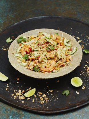 Prawn & Papaya Salad | Vegetable Recipes | Jamie Oliver