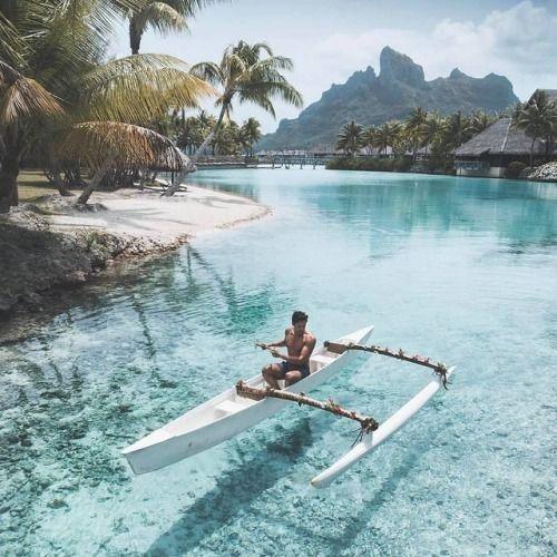 Where is this ? Maldives? Or Bora Bora? (answer in the last...