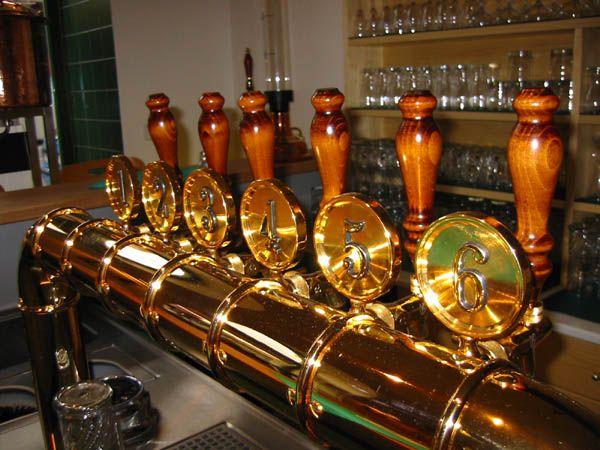 (AB) Pivovarský Klub, serves over 200 local and hard-to-find brews. Krizikova 17, Karlin, Praha 8, Prague, Czech Republic