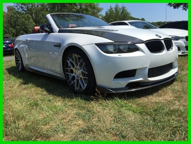 Car brand auctioned:BMW: M3 2011 Car model bmw m 3 used 4 l v 8 32 v manual rwd convertible premium
