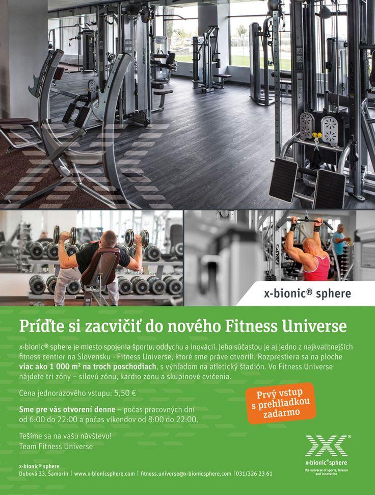 Pozvánka do fitka X-Bionic Sphere pri Bratislave