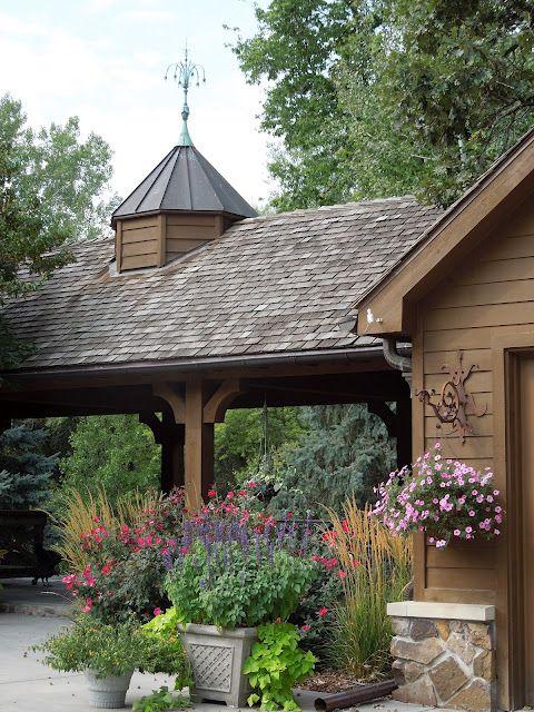 Cupola, weather vane, portico