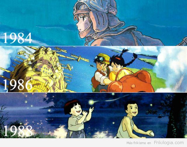 Todas las películas del Studio Ghibli - http://frikilogia.com/todas-las-peliculas-del-studio-ghibli/          fuente:taylorryanmunson: