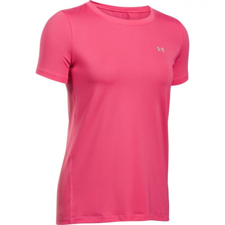 Dámské tričko Under Armour HG SS růžové