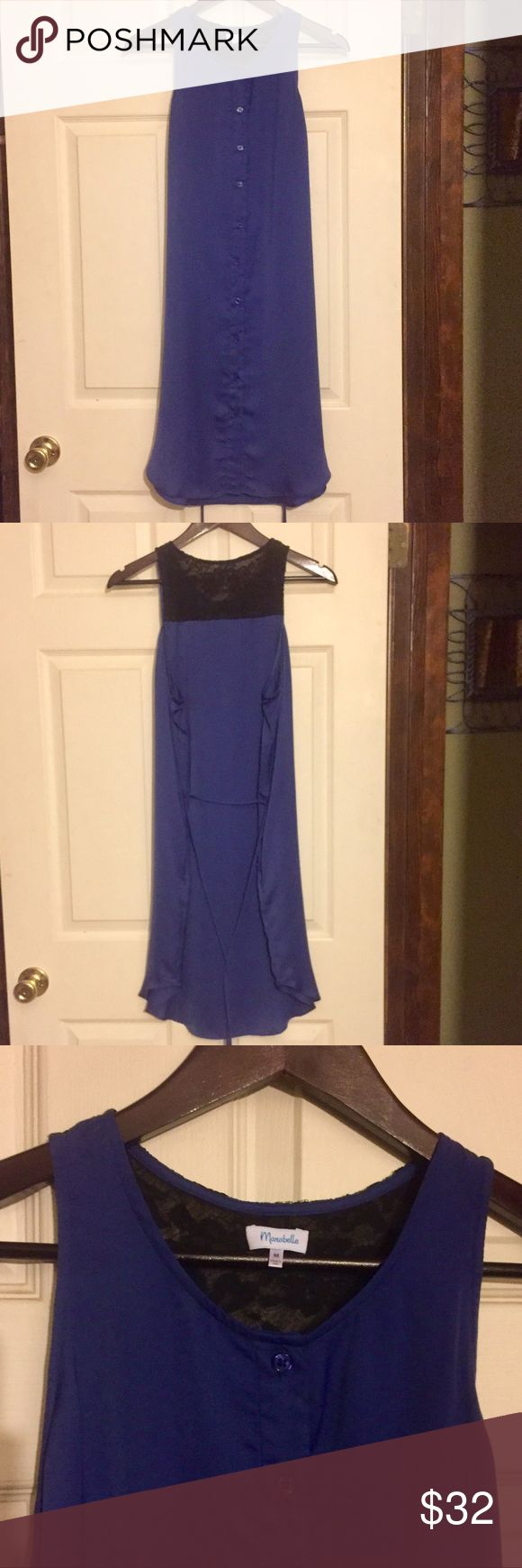 Sleeveless Shirt Dress EUC!  Super Cute, sleeveless, shirt dress with side pockets!  Perfect for transitioning from the office to casual date night!  Has a silky feel.  Can be worn with or without tie.  Cool and Comfy... easy go to summer dress! All my items are from a smoke free home and offers are always welcome🛍💗🛍 Marabelle Dresses