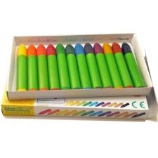 Nawaro Wax Crayons 12 vibrant colour Wax Crayons made from natural and sustainable waxes and other materials.