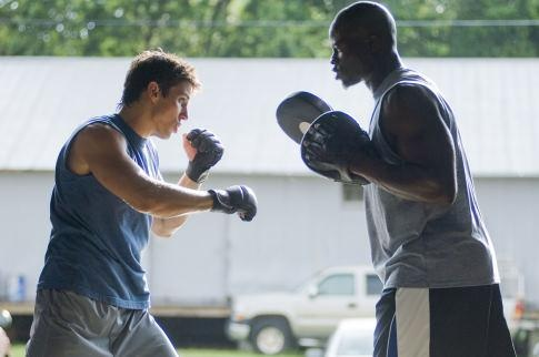 Still Of Djimon Hounsou And Sean Faris In Never Back Down