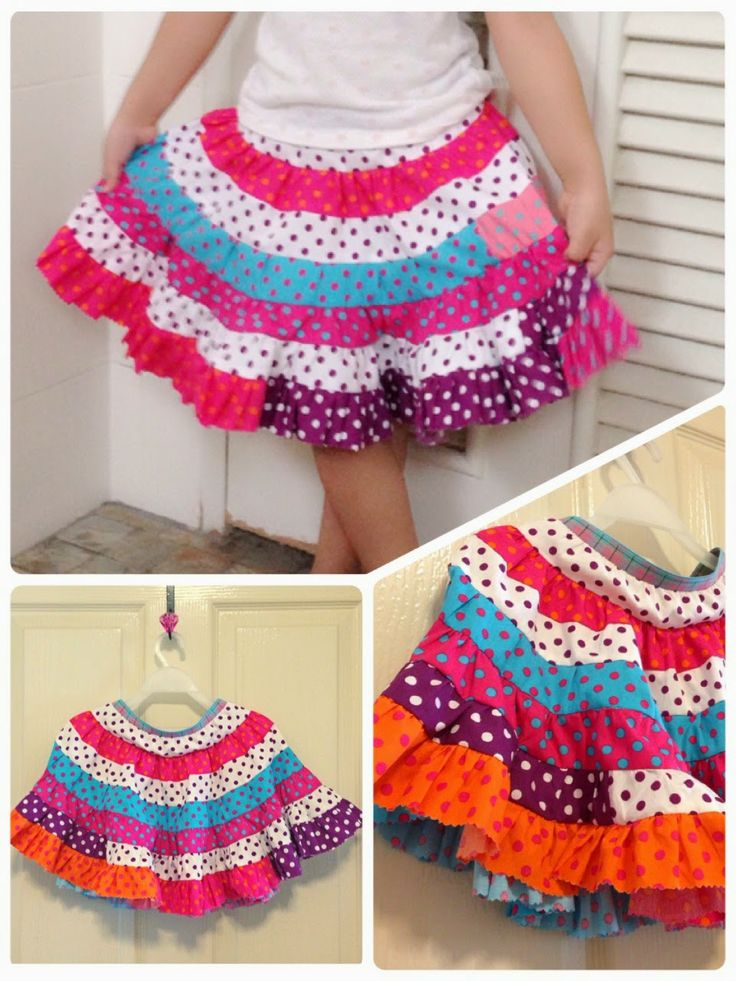 The twirly jelly rolls skirt