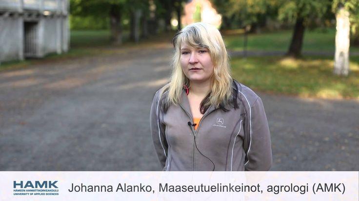 Hämeen ammattikorkeakoulu - Hevostalous ja maaseutuelinkeinot - Agrologi...