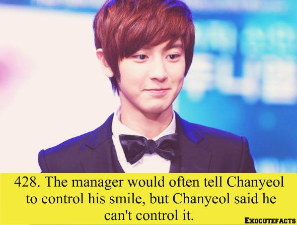aw NO, Chanyeollie! Your smile is golden! Never dim that shining beam of joy. ^_^