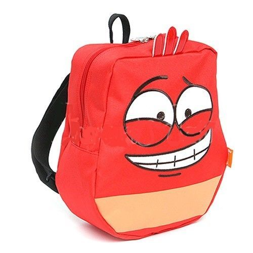 Larva Korea Character Red BackPack School Camping Hiking Bag Kids Child Gift