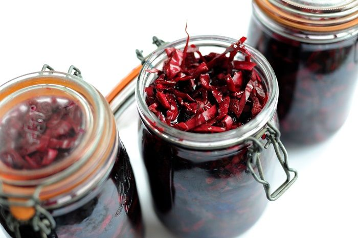 This pickled cabbage recipe looks lovely.