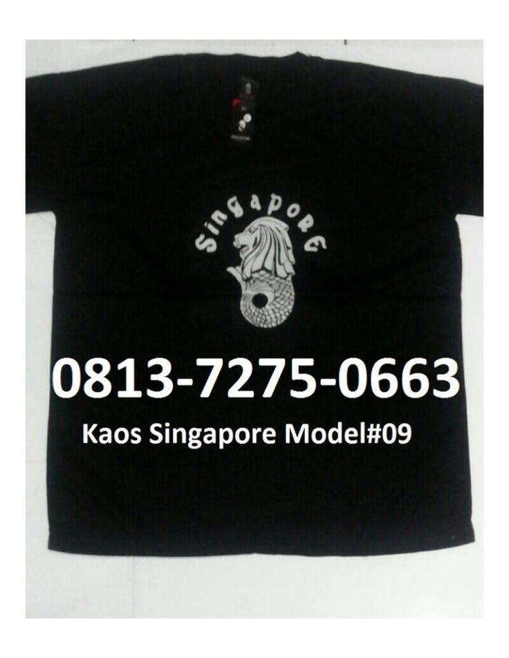 Kaos Singapore model no.#09, Warna Hitam, Harga Rp. 60.000,- (tidak termasuk ongkir) Type Unisex, Ukuran S, M, L & XL, Berat 190gr. Berminat Hubungi : Bpk. Nuswantoro Hp / WA : 0813-7275-0663  Kaos Merlion Singapore, Kaos Import Singapore, Jual Kaos Singapore, Kaos Khas Singapore, Beli Kaos Singapore, Baju Kaos Singapore, Kaos Oleh2 Singapore, Kaos Oleh-oleh Singapore, Kaos Oblong Singapore, Kaos Bertuliskan Singapore,