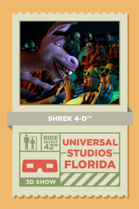 """Shrek and Donkey are back! Join our heroes on an all new adventure that puts you in the story between the Oscar-winning film """"Shrek"""" and """"Shrek 2""""."""